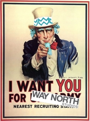 Uncle North wants YOU for Way North Studios